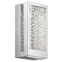 Elan 83724 Pandora Chrome ADA Wall Sconce Wall Light