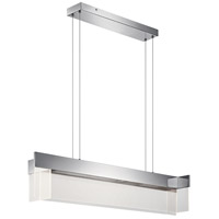 Geo LED 11 inch Chrome Pendant Ceiling Light