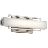 Elan 83750 Perov LED Brushed Nickel ADA Wall Sconce Wall Light
