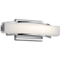 Elan 83760 Rowan LED Chrome ADA Wall Sconce Wall Light