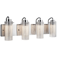 Krysalis LED 27 inch Chrome Vanity Light Wall Light