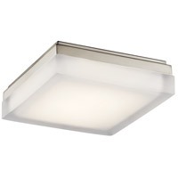 Arston LED 9 inch Brushed Nickel Flush Mount Ceiling Light