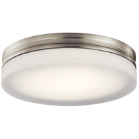 Elan 83803 Rylee LED Brushed Nickel Flush Mount Ceiling Light