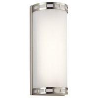 Vivela LED Brushed Nickel ADA Wall Sconce Wall Light