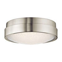 Piazza LED Brushed Nickel Flush Mount Ceiling Light