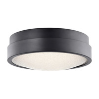 Elan 83813 Piazza LED Bronze Flush Mount Ceiling Light