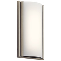 Signature 1 Light Brushed Nickel ADA Wall Sconce Wall Light