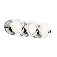 Signature 3 Light Chrome ADA Wall Bracket Wall Light