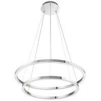 Elan 83866 Opus LED 36 inch Chrome Chandelier Ceiling Light