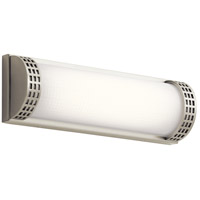 Column LED 15 inch Brushed Nickel Vanity Light Wall Light