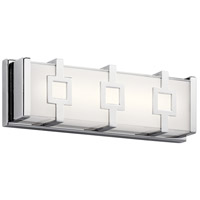 Velitri LED 15 inch Chrome Vanity Light Wall Light