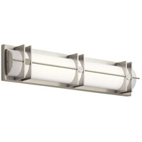 Elan 83907 Nolan LED 25 inch Brushed Nickel Vanity Light Wall Light