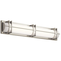 Elan 83908 Nolan LED 31 inch Brushed Nickel Vanity Light Wall Light