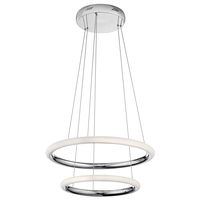 Elan 83957 Dosh LED Chrome Pendant Ceiling Light