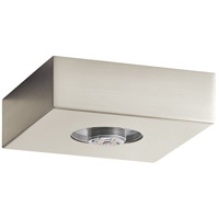 Mates LED Brushed Nickel Flush Mount Ceiling Light