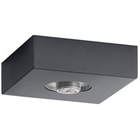 Elan 83979 Mates LED Charcoal Flush Mount Ceiling Light