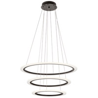 Elan 83987 Hyvo LED Bronze Chandelier Ceiling Light Round