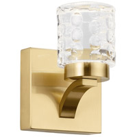 Elan 84039CG Rene LED 5 inch Champagne Gold Wall Sconce Wall Light