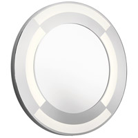 Elan 84043 Signature 30 inch Brushed Stainless Wall Mirror, Round