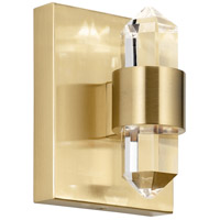 Arabella LED 5 inch Champagne Gold Chandelier Ceiling Light