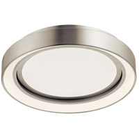 Elan 84156 Fornello Brushed Nickel Flush Mount Ceiling Light