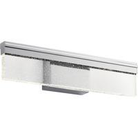 Elan 84160 Laris 18 inch Chrome Vanity Light Wall Light