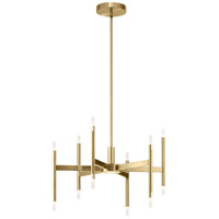 Elan 84176 Kizette Champagne Gold Chandelier Ceiling Light