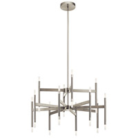 Elan 84177 Kizette Brushed Nickel Chandelier Ceiling Light