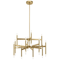 Elan 84178 Kizette Champagne Gold Chandelier Ceiling Light