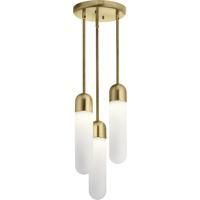 Elan 84195 Sorno Champagne Gold Pendant Cluster Ceiling Light