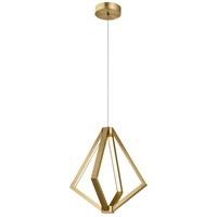 Elan 84198 Everest 6 Light Champagne Gold Pendant Ceiling Light