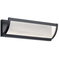 Elan Matte Black Bathroom Vanity Lights