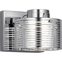 Elan 85054CH Santora LED 6 inch Chrome Wall Bracket Wall Light