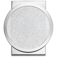 Elan 85061CH Delaine LED 7 inch Chrome Vanity Light Wall Light