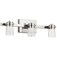 Vada LED 22 inch Polished Nickel Bath Vanity Light Wall Light