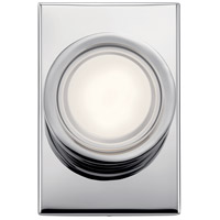 Elan 85075CH Harlaw LED 5 inch Chrome Wall Sconce Wall Light