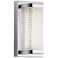 Elan 85081CH Ammiras LED 5 inch Chrome Wall Sconce Wall Light