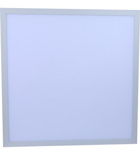 Elitco Lighting PANEL2X2D40W50V1-2PK Lathan LED 24 inch White Panel Light  Ceiling Light, Pack of 2