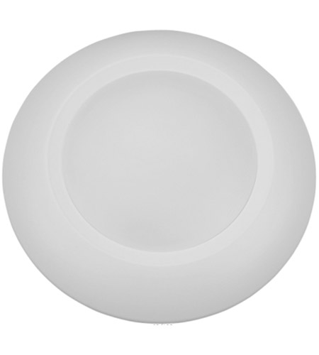 Elitco Lighting R41230NDK-6PK R Series 120V Integrated LED 6 inch Matte White Disk Light in 3000K, Pack of 6 photo thumbnail