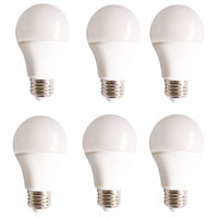 Elitco Lighting A19LED801-6PK A19LED Series LED A19 E26 10 watt 120V 3000K Light Bulb, Pack of 6 alternative photo thumbnail