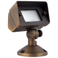 Elitco Lighting C046 Signature 12V 35 watt Antique Brass Landscape Flood Light
