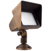 Elitco Lighting C048 Signature 12V 35 watt Antique Brass Landscape Flood Light