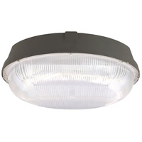 CAN Series LED 11 inch Dark Bronze Outdoor Canopy Light