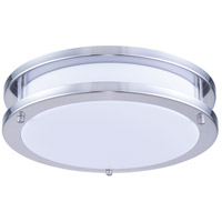 Elitco Lighting CF3200 CF32 Series LED 12 inch Brushed Nickel Flush Mount Ceiling Light
