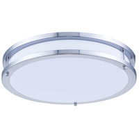 Elitco Lighting CF3201 CF32 Series LED 16 inch Brushed Nickel Flush Mount Ceiling Light