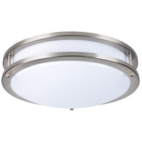 Elitco Lighting CF3202 CF32 Series LED 12 inch Brushed Nickel Flush Mount Ceiling Light