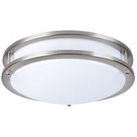 Elitco Lighting CF3205 Cf32 Series LED 14 inch Brushed Nickel Flush Mount Ceiling Light
