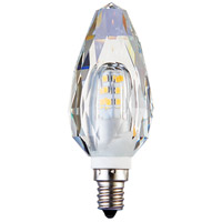 Elitco Lighting E12LED801-10PK Altair LED C35 SMD 2835 LED E12 2 watt 120V 2500K Light Bulb Pack of 10