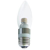 Elitco Lighting E26LED401-10PK Signature LED Candelabra LED E26 4 watt 120V 3000K Light Bulb Pack of 10