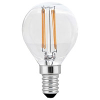 Elitco Lighting G14LED101V1-6PK Ara LED G14 4 watt 120V 2700K LED Light Bulb Pack of 6